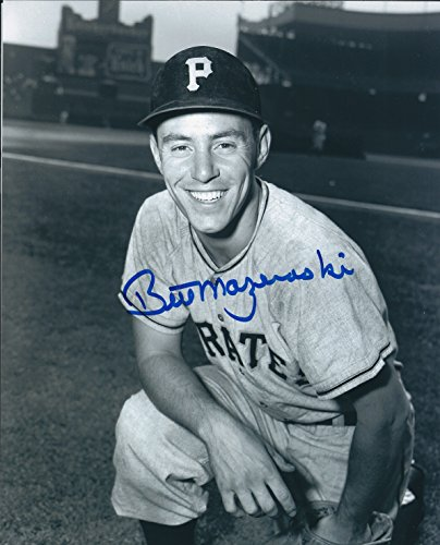 Autographed Bill Mazeroski 8x10 Pittsburgh Pirates Photo