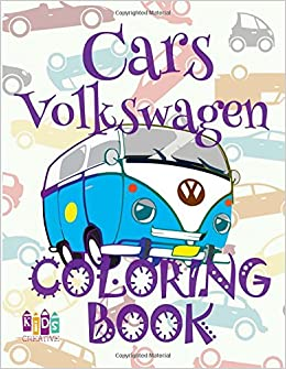 Amazon Com Cars Volkswagen Adulte Coloring Book Cars