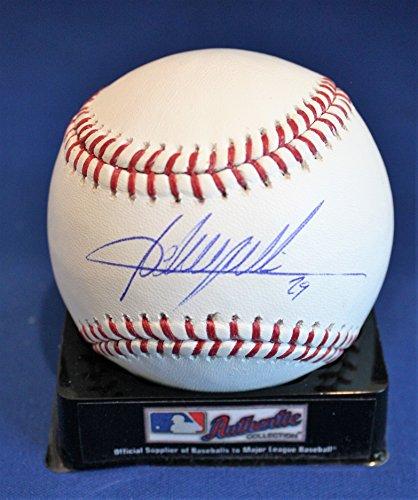 Autographed Adrian Beltre Rawlings Official Major League Baseball with JSA COA