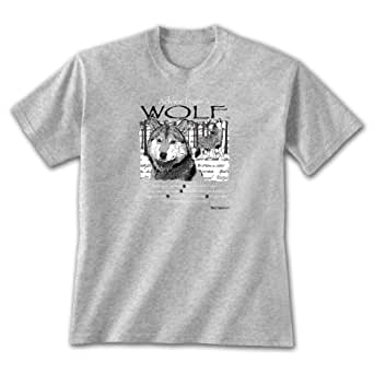 Advice From A Wolf - Sm T-shirt Sports Grey, Pack Pride, Novelty Gift Apparel