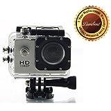 Lambent Bm400 12Mp 1080P , 1.5 Inch ACtion Sport Camcorder For Mi 6 (Multi-Color)