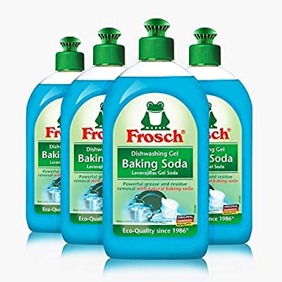 Frosch Natural Baking Soda Liquid - Jabón de lavado a mano, 500 ml ...