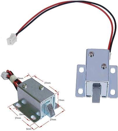 DC6 12V Serrure electromagnetique d/'Armoire Serrure de controle electrique