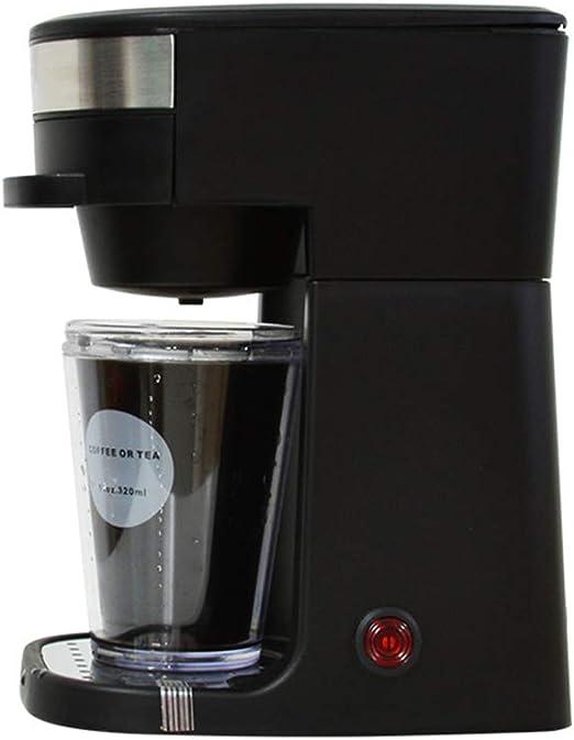 JINRU Electric American Drip Cafetera Automática Mini Espresso Latte Tetera Caldera Polvo Café Tea Steam Brewing Pot Machine: Amazon.es: Hogar