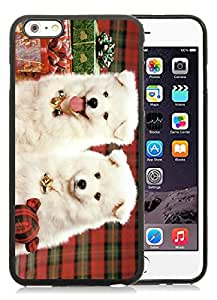 diy phone caseIndividualization iPhone 6 Plus Case,Christmas Doggies Black iPhone 6 Plus 5.5 TPU Case diy phone case1