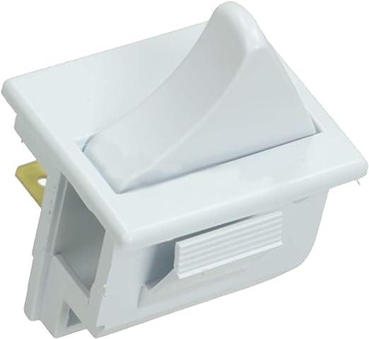 Spares2go - Interruptor de luz y ventilador para frigorífico y ...