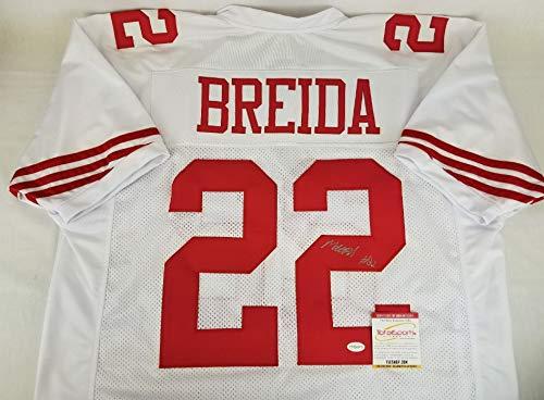 Matt Breida San Francisco 49ers Signed Jersey Autographed TSE COA