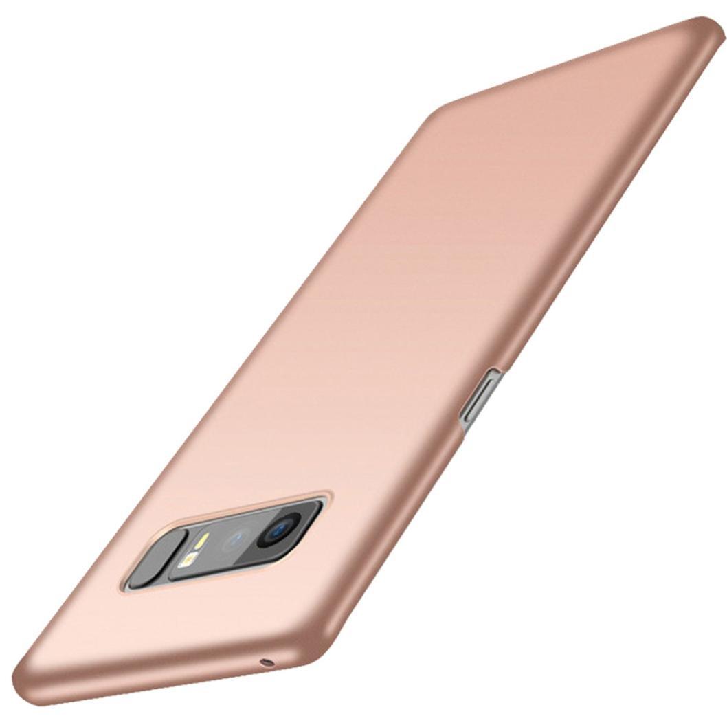 Galaxy s8 / s8 Plus / Note 8ケース, Wensltdファッション耐衝撃携帯電話ケースカバーwithスタンドホルダーfor Samsung Galaxy s8 / s8 Plus / Note 8 Note 8(6.3Inch) ローズゴールド B0755CBB7K