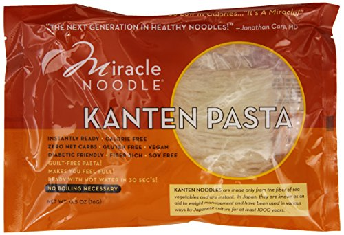 The 5 best miracle noodles kanten pasta