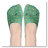 Triangle Avocado Women No-Show Casual Liner Socks Low Cut Ankle Socks Boat Socks