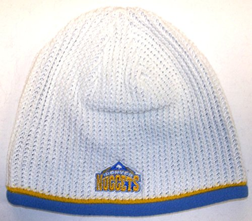 Denver Nuggets Cuffless Adidas Knit Hat - Osfa