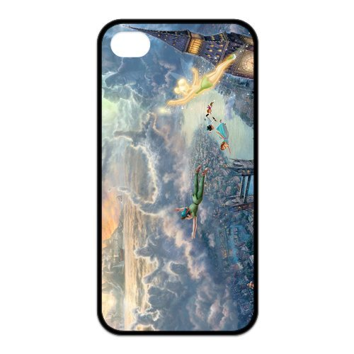 Fayruz- Disney Princess Protective Hard TPU Rubber Cover Case for iPhone 4 / 4S Phone Cases A-i4K25