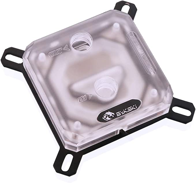 Bykski CPU-XPR-A V2 CPU Water Cooling Block for Intel 115x 20xx 12v RGB