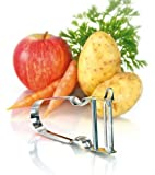 Zena Swiss Star Potato & Vegetable Peeler Stainless Steel