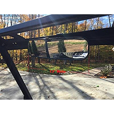 Extreme Metal Products 2015-16 Mid-Size Polaris Ranger Panoramic Mirror: Automotive