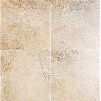 Travertino X Porcelain Tile Ceramic Floor Tiles Amazoncom - Americer ceramic floor tile