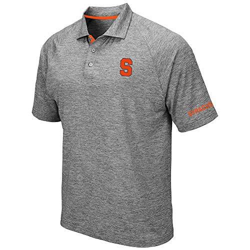 (Mens Syracuse Orange Raglan Polo Shirt - XL)