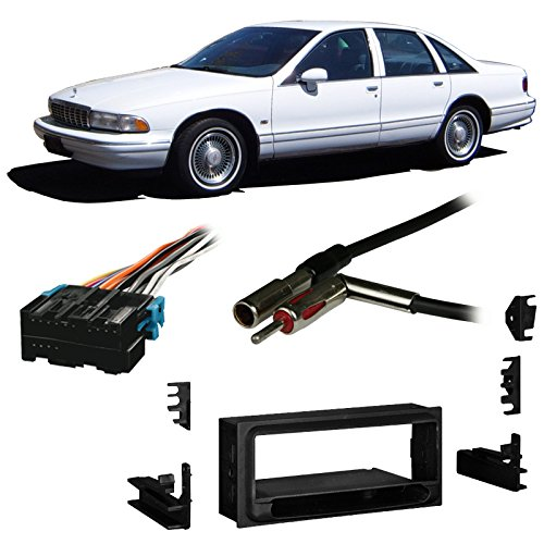 Fits Chevy Caprice 1994-1996 Single DIN Stereo Harness Radio Install Dash Kit
