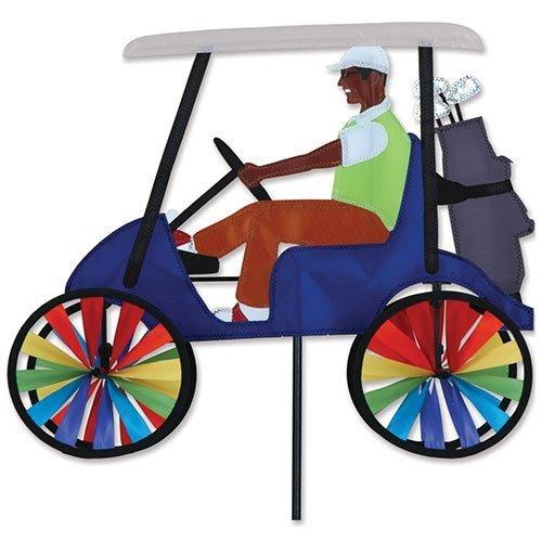 17 In. Golf Cart Spinner - Blue by Premier Kites by Premier Kites