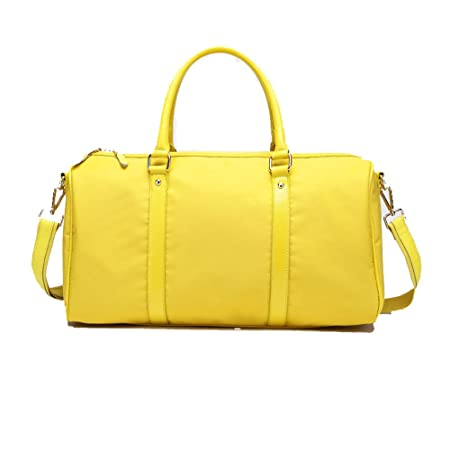 Yamyannie Men Women Portable Travel Duffles Travel Bag Waterproof Handbag  Shoulder Bag Luggage Bag Short- 1504d2f949da4