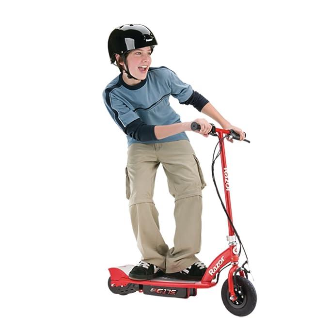 Amazon.com: Razor E175 - Patinete eléctrico para niños con ...