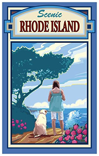Rhode Island The Overlook Travel Art Print Poster by Joanne Kollman
