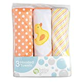 hooded towel 3 pack - Baby Gear 3 Pack Hooded Towel Set- Yellow Duck