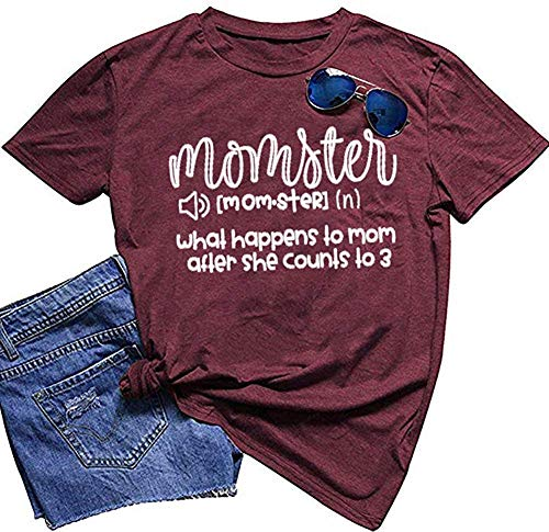 Blouse T Shirt Tank Tops for Women Cotton Button Cute Wanderlust Whimsical 2019 Youth Dillard Long Red Eggshell Share Vslentine Fashion Striped with Quotes Sleeve Schoolgirl Red White (Vslentine)