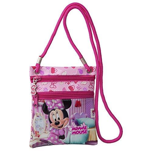 Disney Borsa Messenger, rosa (Rosa) - 2025251