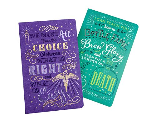 Harry Potter: Character Notebook Collection (Set of 2): Dumbledore and Snape Insight Editions