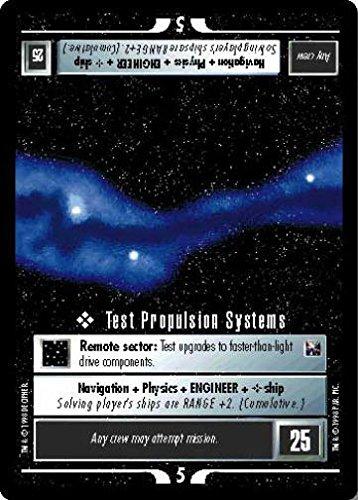 (STAR TREK CCG 1E THE OFFICIAL TOURNAMENT DECK TEST PROPULSION SYSTEMS)