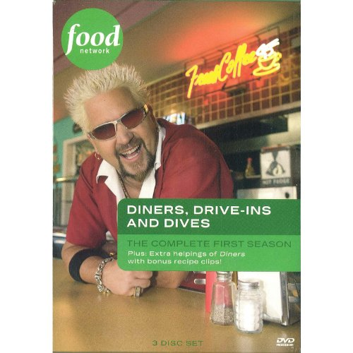 Diners, Drive-Ins & Dives: Season 1 [DVD] (Diners Drive Ins And Dives By City)