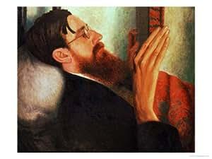 Lytton Strachey, (1880-1932) 1916 Giclee Print art (12 x 9 in)
