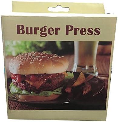 Hamburger Press Burger Fish or Vegetable Burgrs Ideal for Making Formed Meat Non-Stick Burger Press Aluminum Hamburger Patty Maker