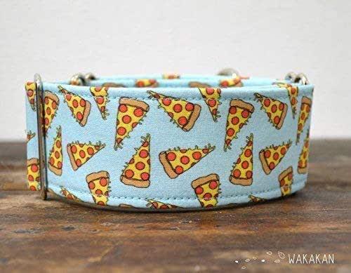 Collar Martingale Para Perro: Pizza, Hecho a Mano en España por Wakakán: Amazon.es: Handmade