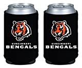 NFL Cincinnati Bengals Magnetic Kolder Kaddy, 2-Pack, Black