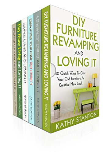 200 Ways To Organize And Redecorate Your Home Box Set (6 in 1): Learn Creative Ways To Makeover Your Home And Get Organized At The Same Time (How To Organize Fast, DIY Hacks, Simplify Your Space) by [Stanton, Kathy, Riley, Rick]