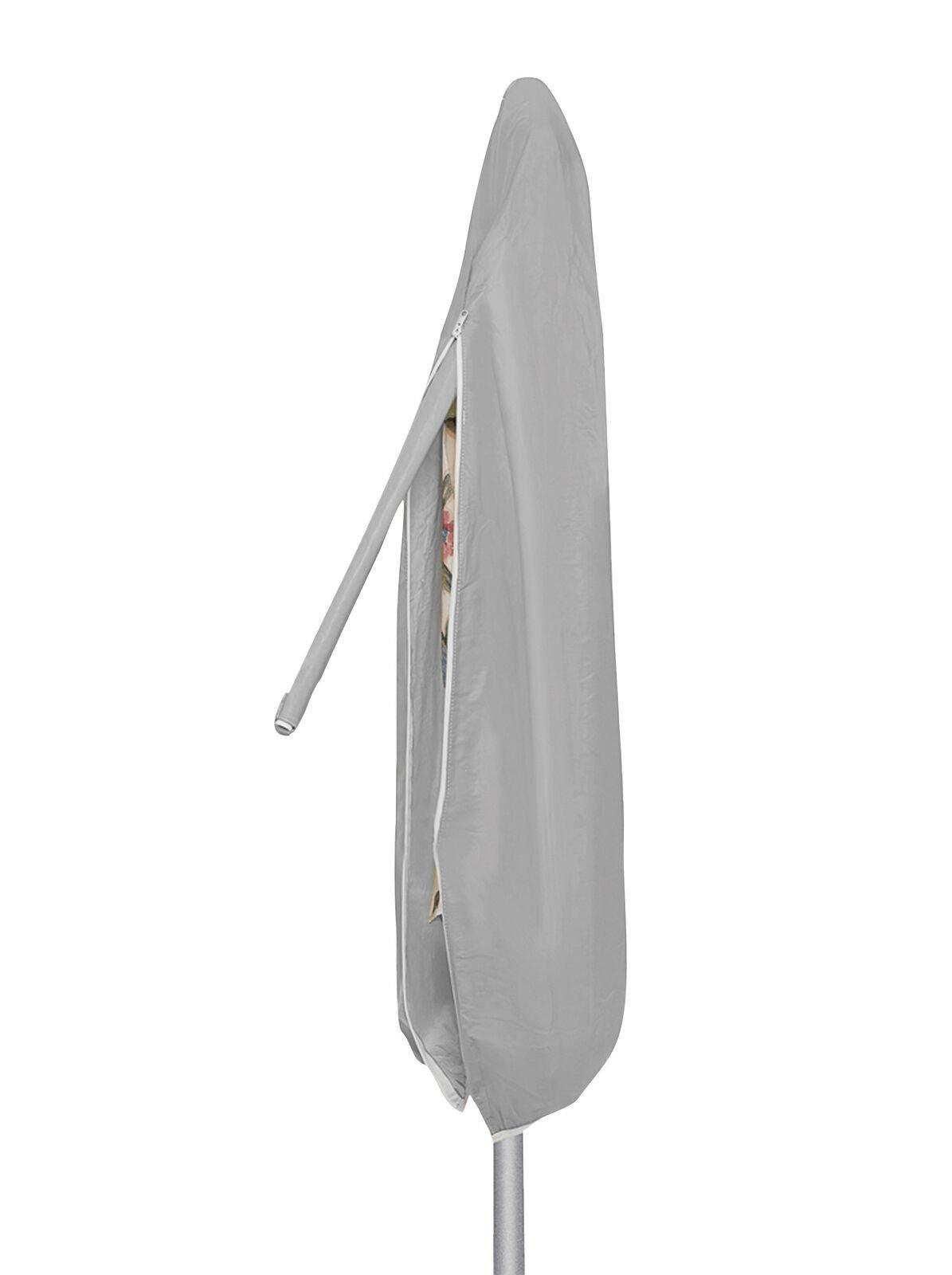 Protective Covers Weatherproof Umbrella Cover, 8.5 x 11 Feet, Gray