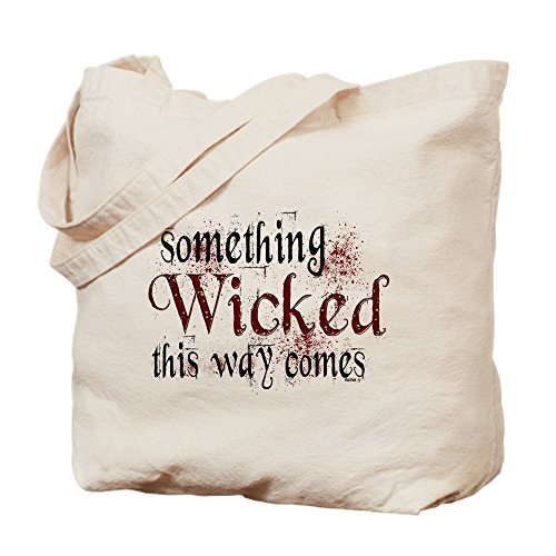 (CafePress Something Wicked Natural Canvas Tote Bag, Cloth Shopping Bag)