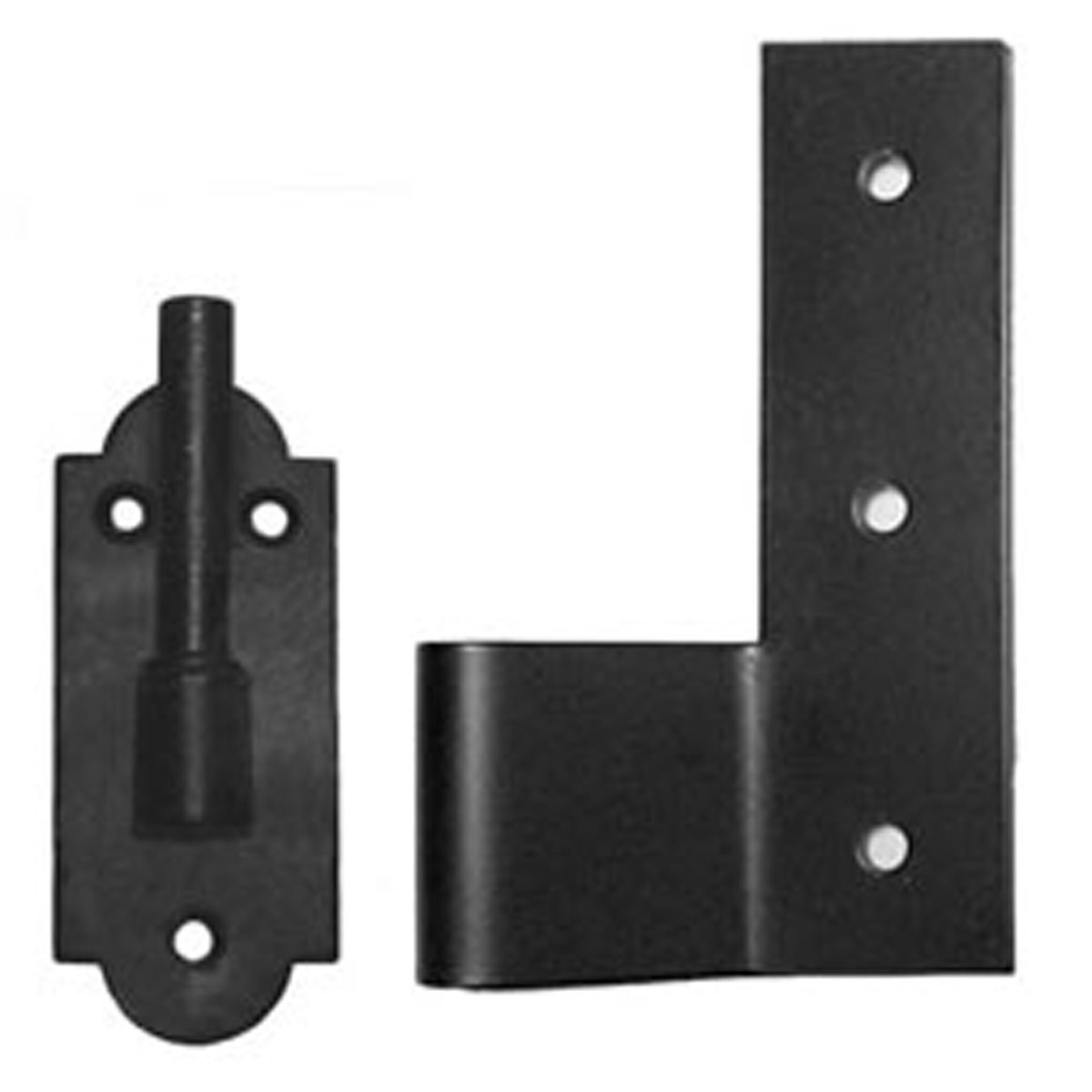 Flat Hinge and Pintel: 2 1/4