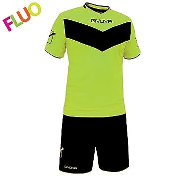 givova kitt05, Camiseta y Pantalón Corto De Fútbol Unisex Adulto: Amazon.es: Deportes y aire libre