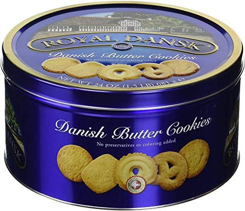 Royal Dansk Danish Butter Cookies, 24 oz. (1.5 LB) (2 Pack(1.5 LB))
