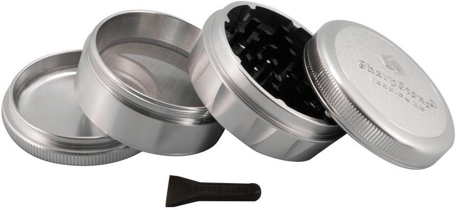 Black 2.1 Sharpstone 2.0-4pc Solid Top Grinder