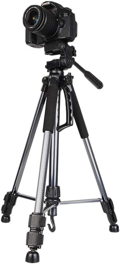 Tripod Portable Tripod Travel Tripod Outdoor Compact Aluminum Camera Tripod Monopod Max Height 1.5m Folding Height 53cm Suitable For Mobile Digital SLR Camera Travel Suitable for Getting Started