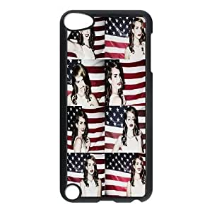 DIY Lana Del Rey Ipod Touch 5 Phone Case, Lana Del Rey Customized Hard Back Case for iPod Touch5 at Lzzcase