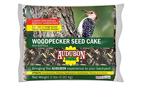 Audubon Park 11931 Woodpecker Seed Cake, 2-Pounds