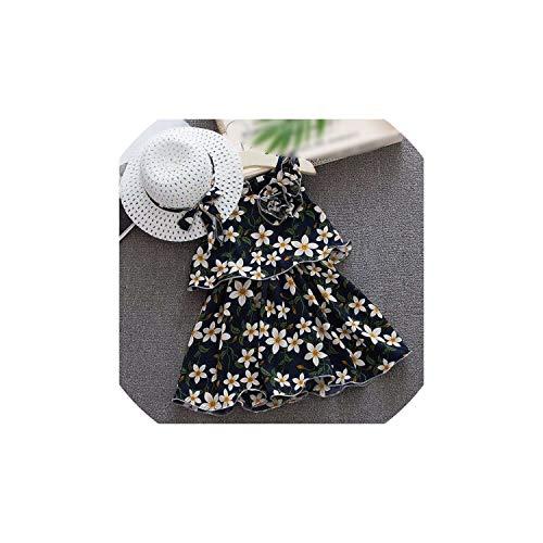 Girl Costume Floral Sleeveless Dress for Clothing for