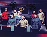 Star Trek Cast Signed Autographed 8 X 10 Reprint Photo - Mint Condition