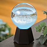 #8: Bits and Pieces - LED Light-Up Color Changing Admiral Fitzroy Storm Glass Weather Instrument - Decorative Home Weather Instrument