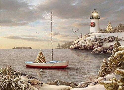 Lighthouse Christmas Cards - 7